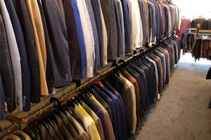Alexanders suits heren kledingwinkel